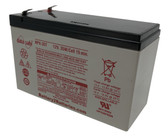 "Enersys Data Safe NPX-35T Battery 12V 35W/Cell 15 Min. (.250"" Tabs)"
