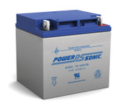 Power-Sonic PS-12400 NB Battery - 12 Volt 40 Amp Hour AGM