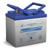 Power-Sonic PS-12330 NB Battery - 12 Volt 33 Amp Hour AGM