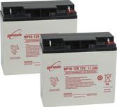Ryobi 971255100 Cordless Lawn Mower Batteries - 12V 18.0Ah (2 Pieces)