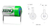 Xeno Energy XL-050F-T1 Battery (Solder Tabs)