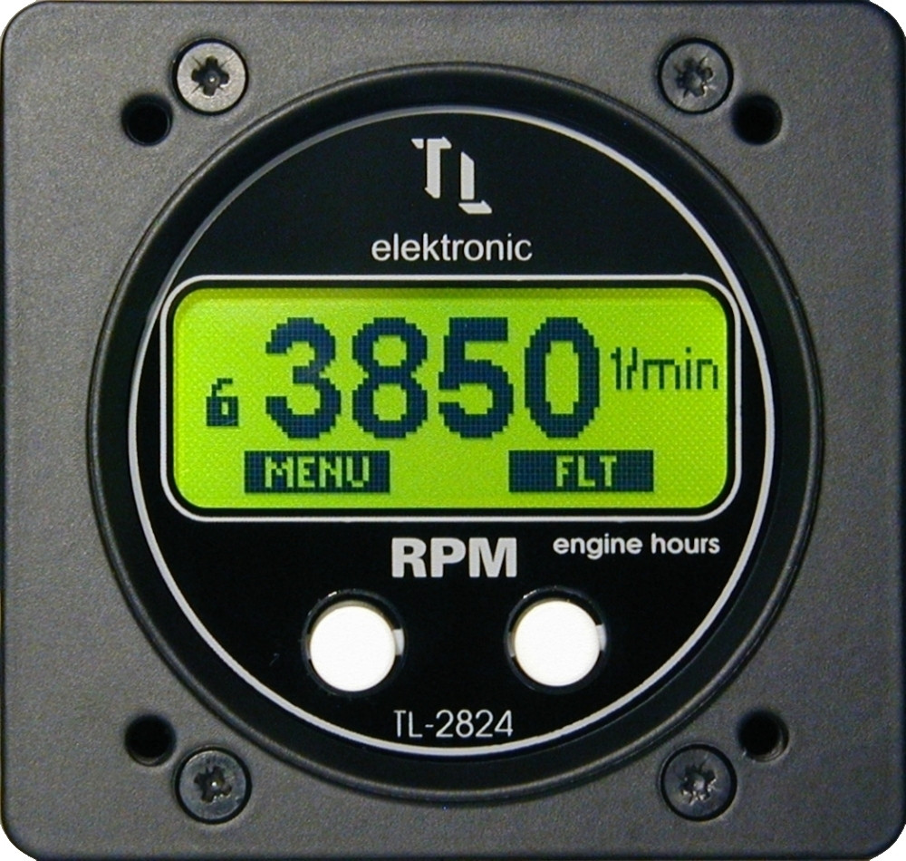RPM and Engine Hour meter 2824-SAS - Swift Avionics Online Shop