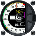 LX Nav Airdata Indicator 57mm