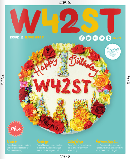 W42ST Magazine featuring Evelyn's Kitchen at Gotham West Market