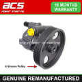 VAUXHALL MOVANO POWER STEERING PUMP 2001 > 2010 (6 Groove Pulley)