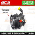 FORD FIESTA 1.6 16v 2000>2002 (120mm Pulley) POWER STEERING PUMP