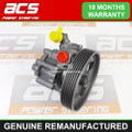 PEUGEOT 406 2.0 PETROL 1999 TO 2004 (126mm Pulley) POWER STEERING PUMP