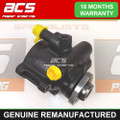 VW BORA 1.4, 1.6, 2.0 PETROL 1998 TO 2005 POWER STEERING PUMP