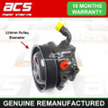 FORD FIESTA 1.25 16v 2002>2008 (124mm Pulley) POWER STEERING PUMP