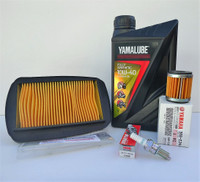 Yamaha YZF-R125 2014 on- Service Kit - Fully Synthetic Oil, Filters & Plug