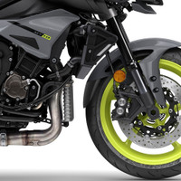 Pyramid Fender Extender 052239 for Yamaha MT-10, R1 '09 on, R6 '17 on - Includes Stick fit Kit