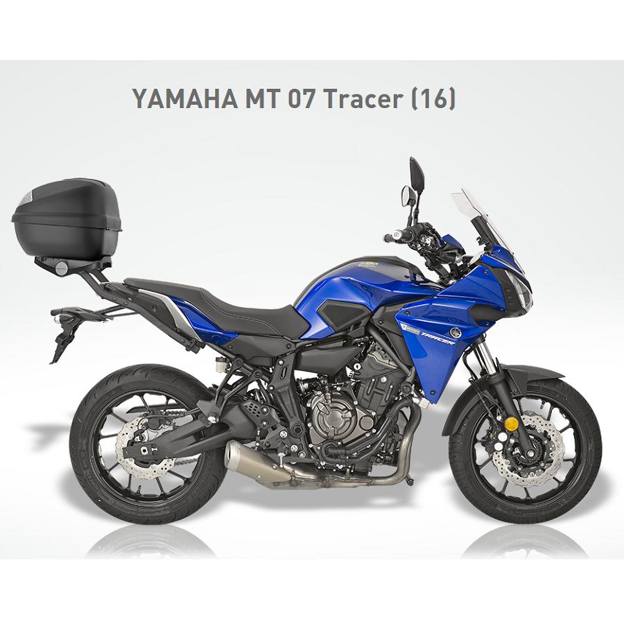 Kappa luggage kit for yamaha tracer 700 small 30 litres for Yamaha tracer 700