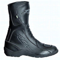 RST Tundra CE Waterproof Motorcycle Boots Black -Ladies