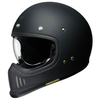 Shoei EX-ZERO Motorcycle Helmet- Matt Black