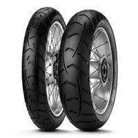 TOURANCE™ NEXT  Two tyres, one bike, zero limits  Setting the standard for enduro street bikes  Enduro street tyre that dares you to challenge any weather condition and any road