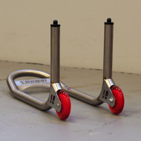 "Harris Front ""Under Fork"" Spigot Type Stainless Steel Paddock Stand"
