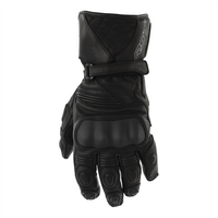 RST GT Leather Motorcycle Gloves -Black