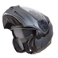 Caberg Duke II Motorcycle Modular Flip Helmet -Impact -Matt Gun Metal