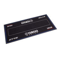 Yamaha Racing Pit Garage Mat Black FIM Approved Environmental Mat