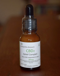 CBD2 Relief CompleX 300mg
