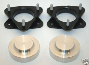 MZS 1.5 Front Leveling Lift Kit Compatible with 2007-2021 Tahoe Silverado//Avalanche//Suburban 1500 Yukon Sierra//Yukon XL 1500