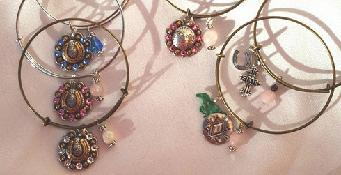 NEW!!! ADJUSTABLE CHARM BRACELETS