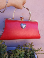 Red Heart Handbag