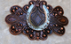 Horseshoe Barrette. Small western hairclip. Authentic MADE IN FRANCE French back will not slip, pop or break. Perfect size for those with very fine hair, or if you just want to wear part of your hair back. Mixed Metals. Permanent Antiqued Copper Finish with Antiqued Silver Horseshoe PROUDLY HANDMADE IN TUCSON, AZ.