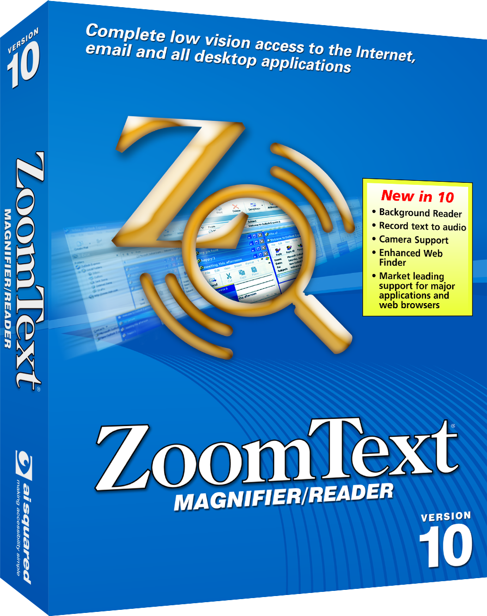 ZoomText Magnifier with Speech