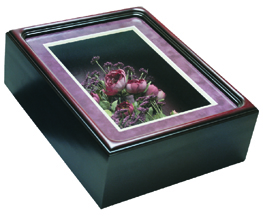 Rectangle Shadow Box - Frame #551 - Rosewood