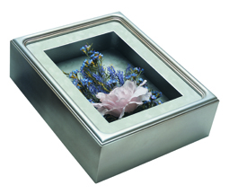 Rectangle Shadow Box - Frame #570 - Silver Shade