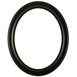Black wood frame png Stylish Messina Oval Frame 871 Rubbed Black Victorian Frame Company Black Oval Picture Frames Shop For Black Wooden Picture Frames