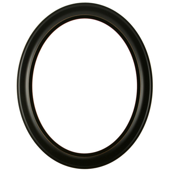 Messina Oval Frame # 871 - Rubbed Black