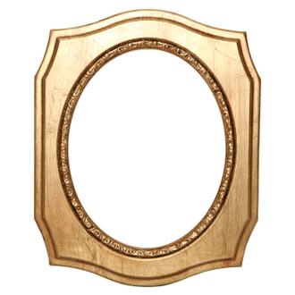 San Francisco Oval Frame # 609 - Gold Leaf