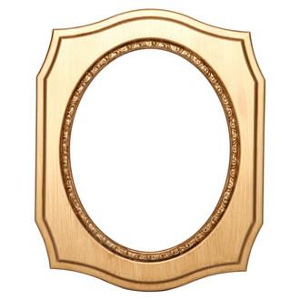 San Francisco Oval Frame # 609 - Gold Paint