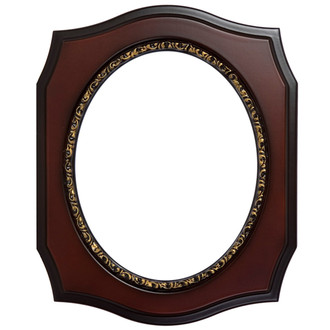 San Francisco Oval Frame # 609 - Rosewood
