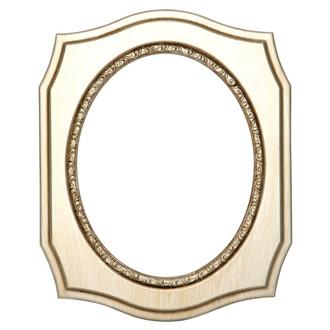 San Francisco Oval Frame # 609 - Silver