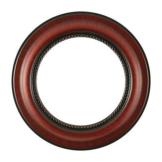Heritage Round Frame # 458 - Vintage Cherry