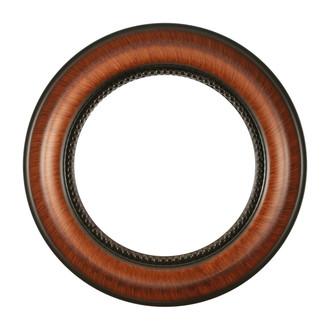 Heritage Round Frame # 458 - Vintage Walnut