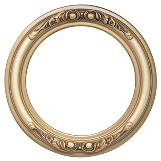 Florence Round Frame # 461 - Desert Gold