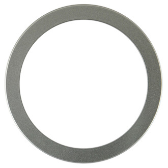 Vienna Round Frame # 481 - Bright Silver