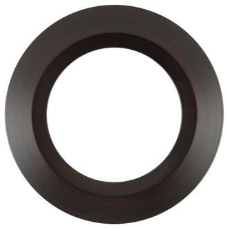 Veneto Round Frame # 485 - Mocha