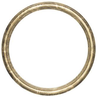 Saratoga Round Frame # 550 - Champagne Gold