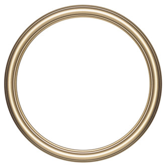 Saratoga Round Frame # 550 - Gold Spray