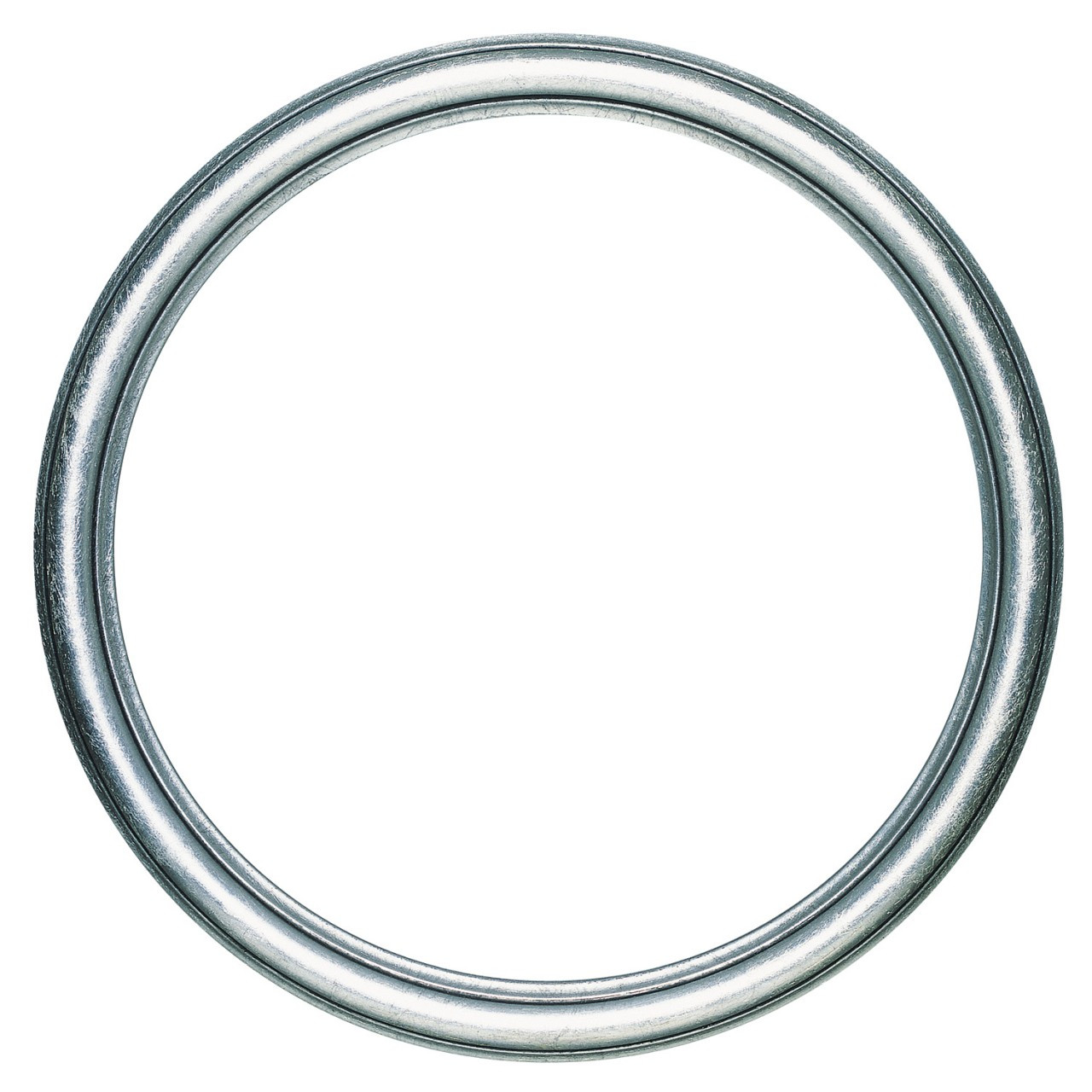 6f902d837648 Round Frame in Silver Leaf Finish with Black Antique