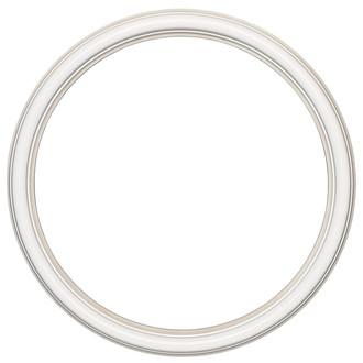 Saratoga Round Frame # 550 - Taupe