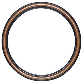 Saratoga Round Frame # 550 - Vintage Walnut