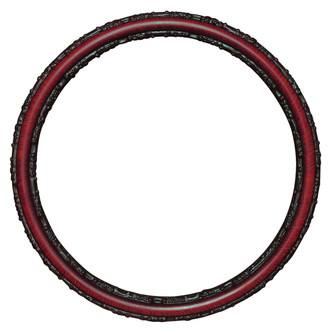 Virginia Round Frame # 553 - Vintage Cherry