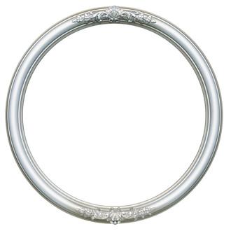 Contessa Round Frame # 554 - Silver Shade