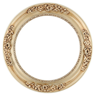 Versailles Round Frame # 603 - Silver